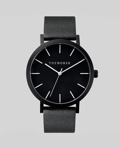 The Horse - The Original Watch <br>All Black