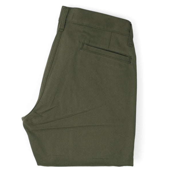 Taylor Stitch - Standard Issue Slim Chino Pants <br>Olive Green