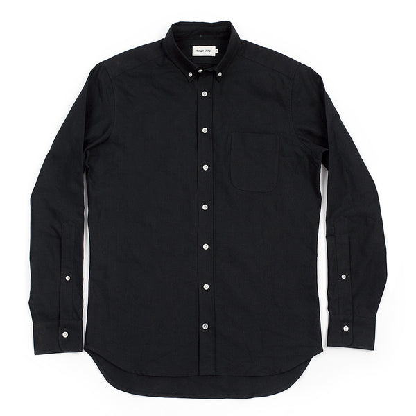Taylor Stitch - Oxford Jack Shirt <br>Black
