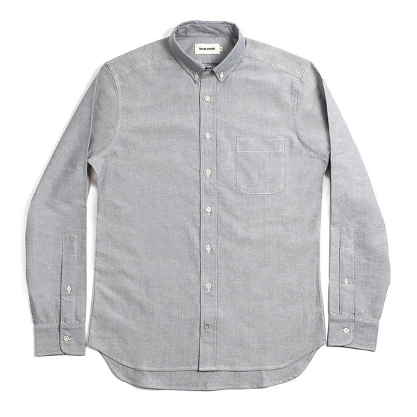 Taylor Stitch - The Jack Everyday Oxford Shirt <br>Charcoal