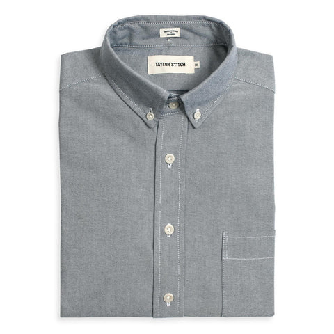 Taylor Stitch - Oxford Jack Shirt <br>Charcoal