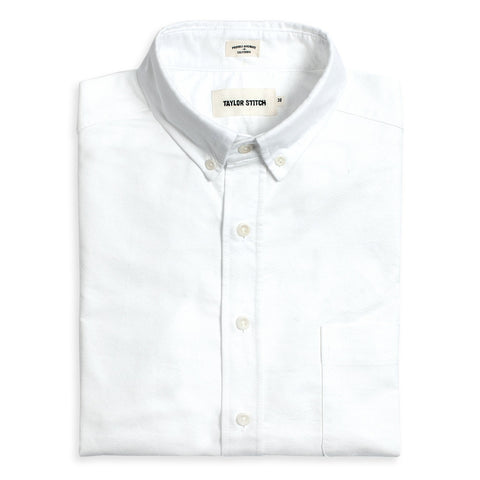 Taylor Stitch - Oxford Jack Shirt <br>White