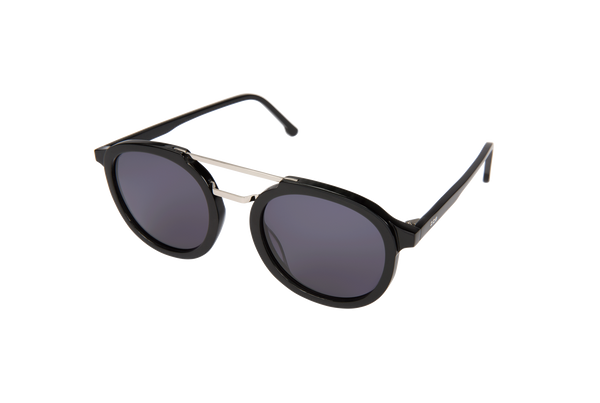 Komono Crafted - The Gilles Sunglasses Acetate Black