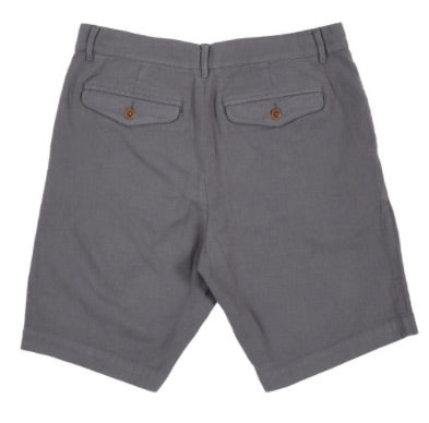 Grayers -  Cotton Linen Stretch Shorts - Iron Gate
