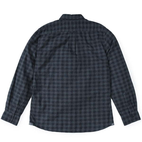 Grayers - Parson Double Cloth Shirt - Charcoal Gray Gingham