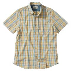 Grayers - Sommerset Multi Color Check Short Sleeve Shirt - Sahara Sun/Blue/Sand