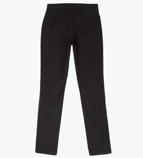 Welcome Stranger - Overdyed Stretch Chino <br>Black