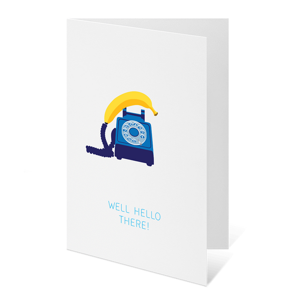 Popglory - Well Hello There Greeting Card