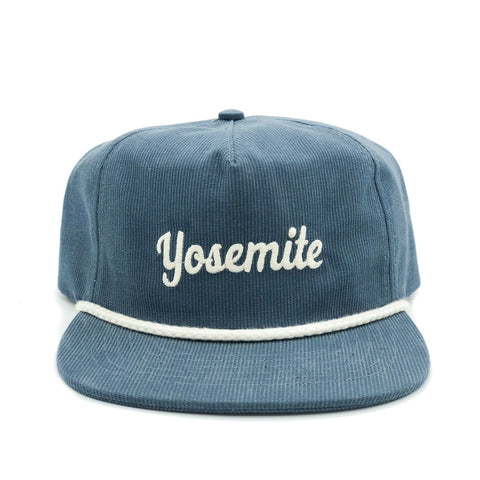 Parks Project - Yosemite Throwback Cord Hat