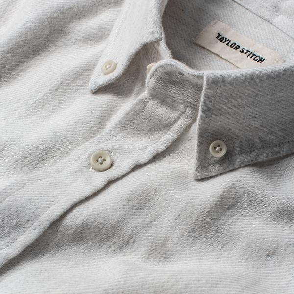 Taylor Stitch - The Jack Shirt <br> Natural Brushed Organic Cotton