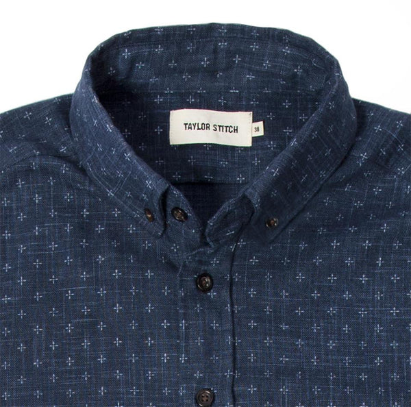 Taylor Stitch - The Jack Shirt <br> Indigo Star