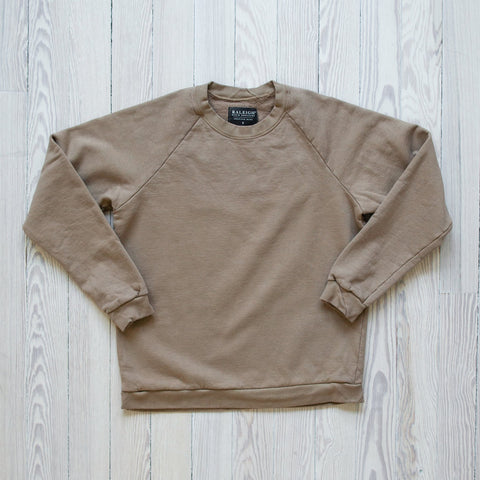 Raleigh Denim Workshop - Raglan Sweatshirt Desert