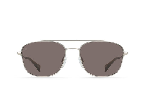 RAEN - Barolo Sunglasses - Light Gunmetal + Kelp / Plum Brown