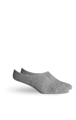 Richer Poorer - Ford - No Show Socks - Heather Grey