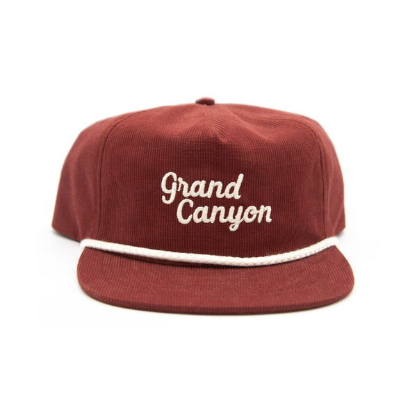 Parks Project - Grand Canyon Throwback Cord Hat