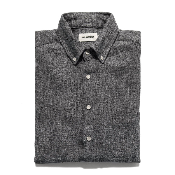 Taylor Stitch - Jack Shirt <br>Charcoal Hemp Melange