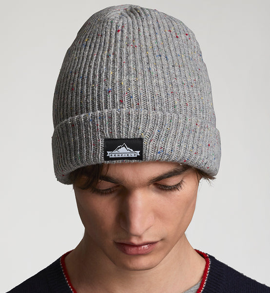 33a11bfe427c1 Penfield - Harris Beanie Grey – Hemingway and Sons