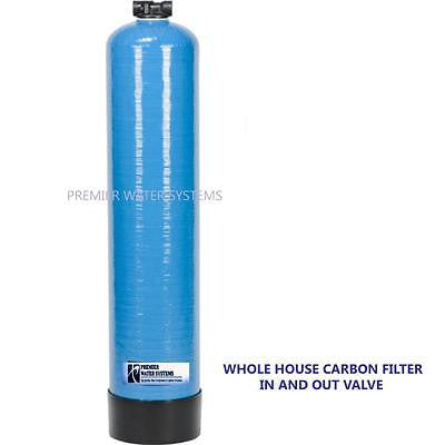 "Premier Whole House ph Adjusted calcite media with in and out valve 10""x 54 Tank"