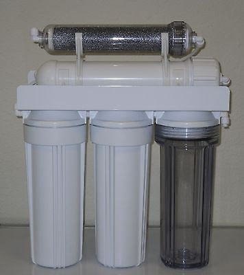 Aquarium Reef Reverse Osmosis 5 stage RO/DI SYSTEM  100 GPD MADE IN USA