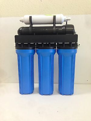 Premier Reverse Osmosis water filter 5 stage Core System 75 GPD Made in U.S.A.