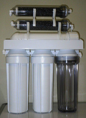 PREMIER 6 STAGE AQUARIUM REEF REVERSE OSMOSIS WATER FILTER RO/DI MADE IN USA