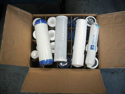 21 PCS-WATER FILTERS SEDIMENT CARBON REVERSE OSMOSIS DI