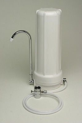 Premier Counter top Water Fluoride reduction Filter multi stage Made in USA.