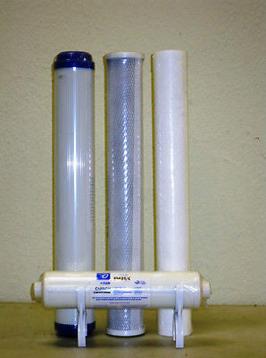 "Drinking Water Filter - 14 Piece 5 micron Reverse Osmosis 2.5 x 20"" Slimline 20""Housing multi layed Drinking Water Filter."