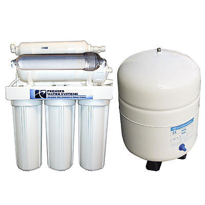 PREMIER REVERSE OSMOSIS WATER SYSTEM ALKALINE FILTER 6S