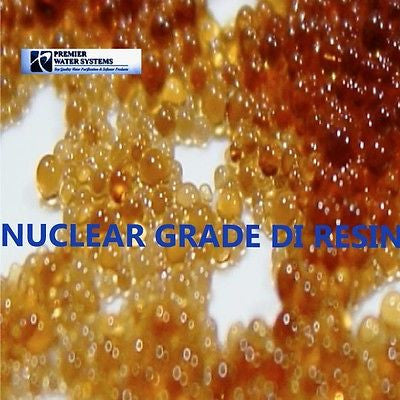 Mix Bed Deionization  RESIN nuclear Grade 5 pounds Ultra Pure