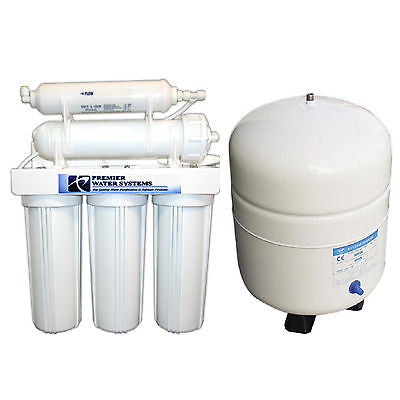 Reverse Osmosis HOME  Water Filter System 5 stage 75 GPD Made in USA