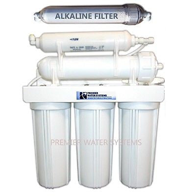 Premier Alkaline Reverse Osmosis Core System 50 GPD Made in the U.S.A.