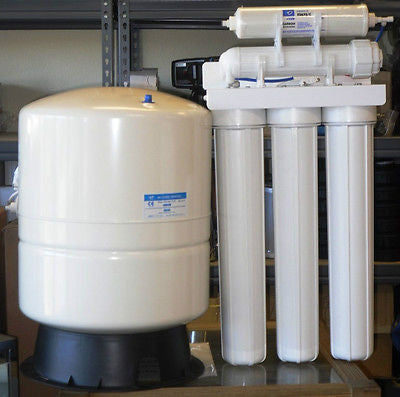 LIGHT COMMERCIAL REVERSE OSMOSIS SYSTEM 300 GPD 14 Gallons TANK
