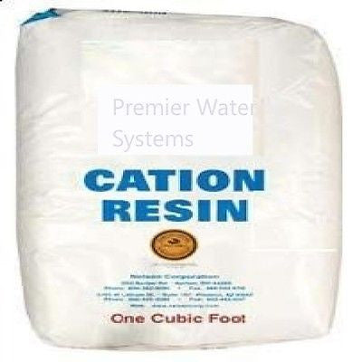 WATER SOFTENING RESIN ION EXCHANGE RESIN CATION