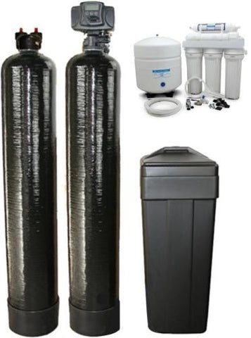 Softener 64K and Upflow carbon 2 cubic Ft Filtration & drinking water system