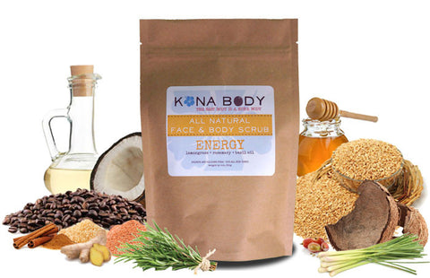 Kona Body Scrub - Energy