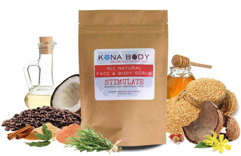 Kona Body Scrub - Stimulate