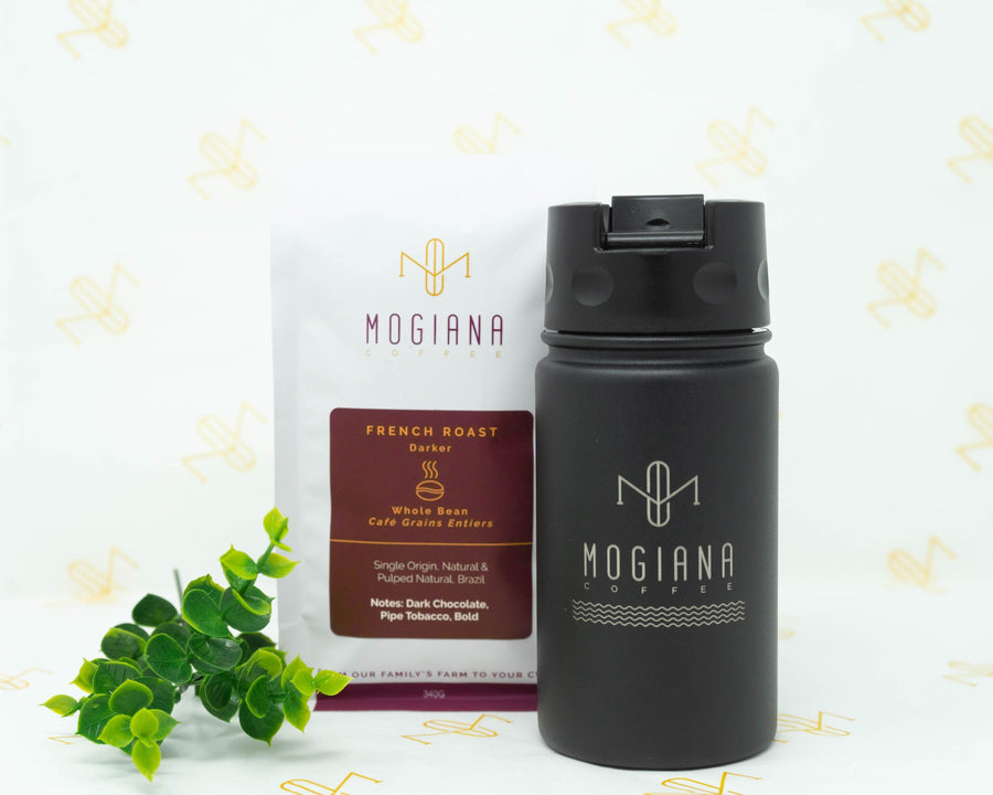 Mug & Whole Bean Coffee Gift Set