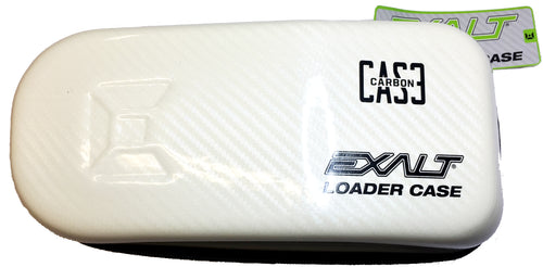 Exalt Carbon Fiber Universal Loader Case - White