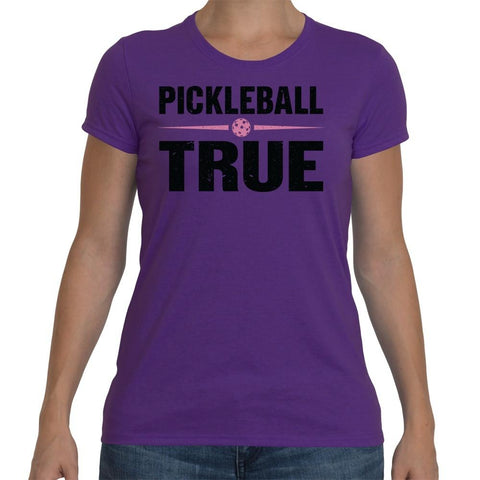 "Pickleball True ""Classic"" Performance Shirt - Women's [product _type] Pickleball True - Ultra Pickleball - The Pickleball Paddle MegaStore"