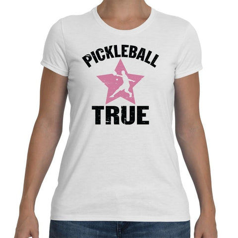 "Pickleball True ""RockStar"" Performance Shirt Women's [product _type] Pickleball True - Ultra Pickleball - The Pickleball Paddle MegaStore"