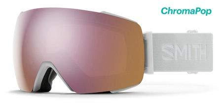 Smith Optics I/O Mag Adult Snowmobile Goggles - White Vapor/Chromapop Everyday Rose Gold Mirror/One Size