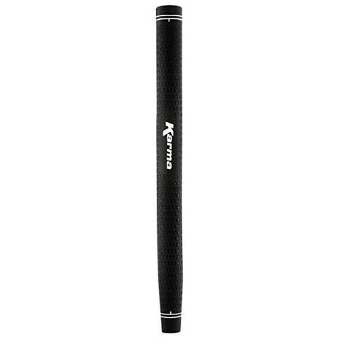 Karma Velour Black Paddle Putter Grip