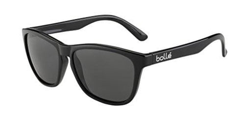 Bolle 473 Sunglasses, Shiny Black/Polarized TNS Oleo AR