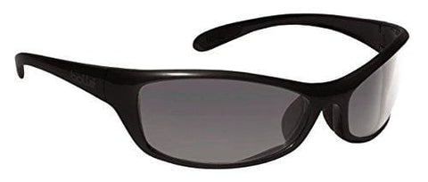Bollé Safety 253-SR-40067 Safety Spider Eyewear with Dark Gunmetal Nylon + TPE Frame and Smoke Lens