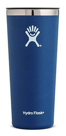 Hydro Flask 22 oz Tumbler Cup | Stainless Steel & Vacuum Insulated | Press-In Lid | Cobalt