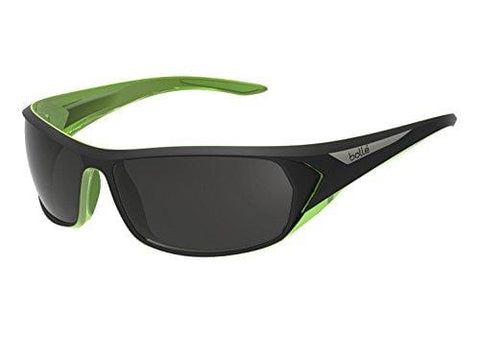 Bolle Blacktail Sunglasses, Polarized TNS Oleo AF, Matte Black/Lime