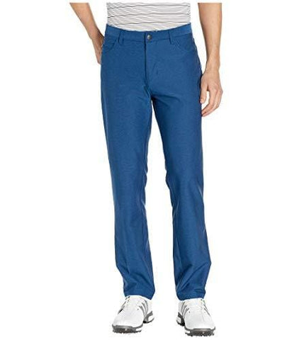 adidas Golf Ultimate Heather 5-Pocket Pant, Dark Marine Heather, 3230