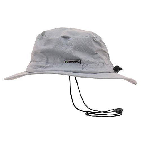 Frogg Toggs Waterproof Breathable Bucket Hat, Gray, Adjustable
