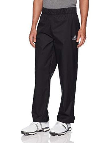 adidas Golf Men's Climastorm Provisional Rain Pants, Large/Regular, Black